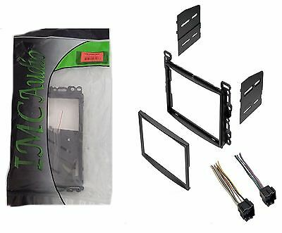 Double Din Dash Kit for After Market Radio Stereo Installation and Wire Harness Aftermarket Dash Kits
