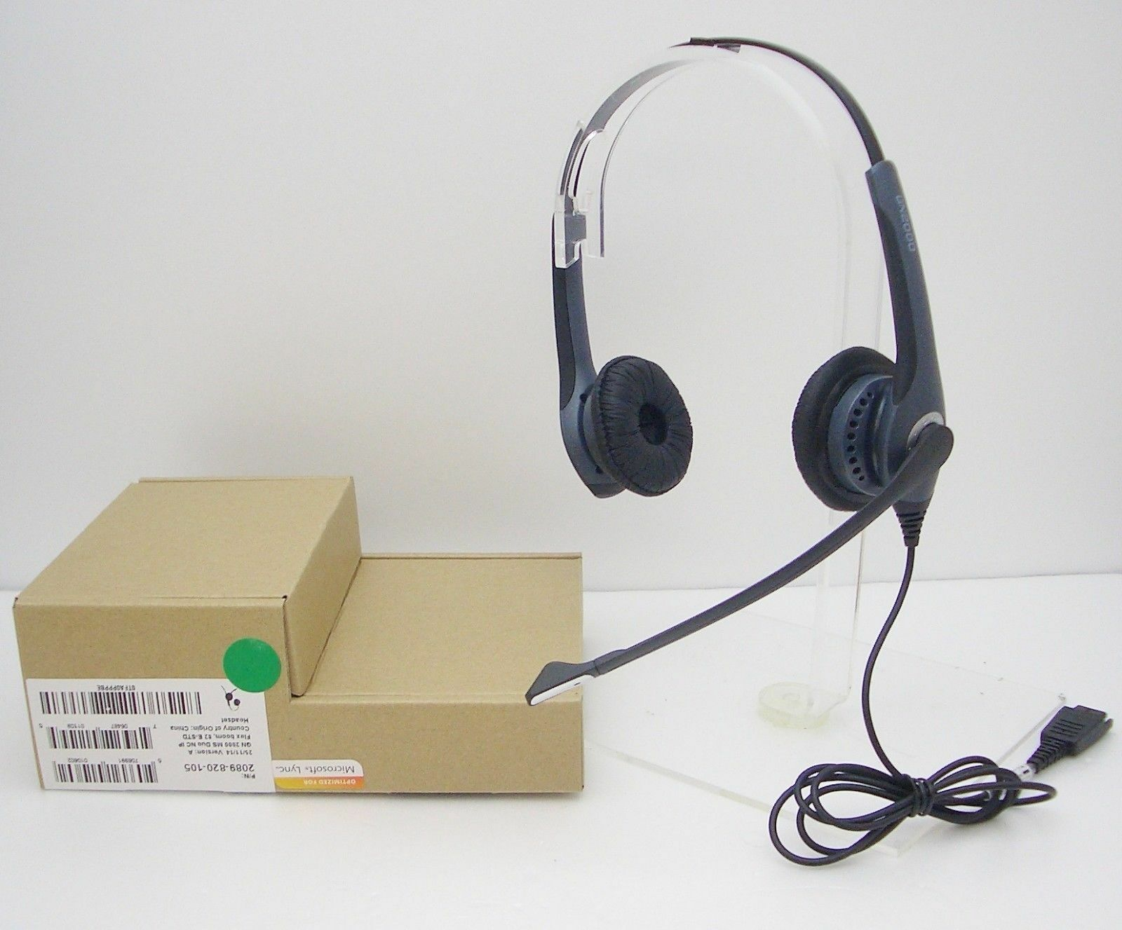 Details about GN2000-NC Headset for Cisco 6821 6921 6941 6961 7861 7941  7961 7971 8941 & 8961