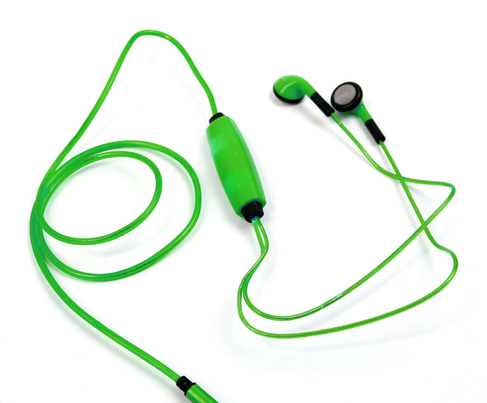 Neon Light-Up Earphones in Green for Huawei Honor Tablet, Me