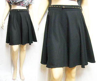 1,295 GUCCI 44 Club Wear to Work A-Line Skirt WOOL Dress Belt Women Lady  Gift B 3fea78cab71