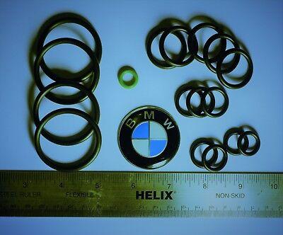 BMW Mini Cooper Cooling System Heater Radiator Hose O-Ring Set Kit: 1996-2013