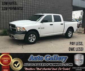 2017 Ram 1500 ST *ONLY 86 KMs!