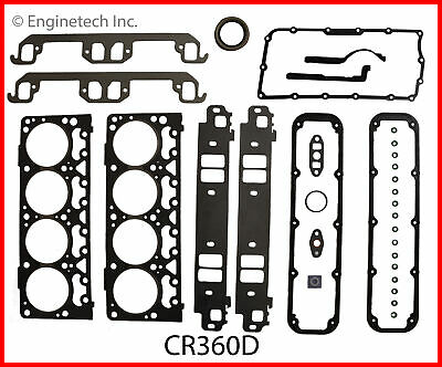ENGINETECH CR360D Engine Rebuild Gasket Set