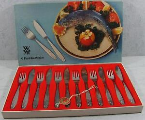 12tlg. Fischbesteck WMF  Nummer 12 8835 6040 für 6 Personen - Neu in OVP