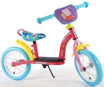 Peppa Wutz Pig Laufrad 12 Zoll Kinderlaufrad ab 2 Jahre Roller Kinder Spielzeug
