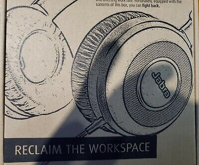 New - Jabra Evolve 80- Professional Noise Cancelling Wired Headset/Headphones