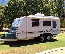 2001 Jayco  Westport, Off-road tandem axle caravan with ensuite Wanneroo Wanneroo Area Preview