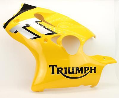 NEW 2000-2003 Triumph TT600 Racing Yellow Left Side Fairing Cowl 2688