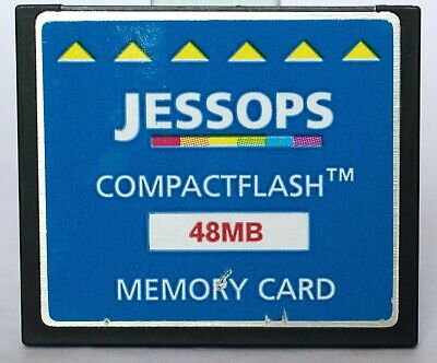 Jessop 48mb compact flash card, made by
