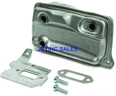 Muffler For Stihl Ts 410 Ts420 4238 140 0611 Gasket Cooling Plate Bolts
