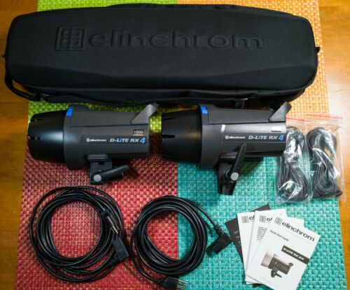 Elinchrom D-Lite 400W/s RX 4 Flash Two-Light Kit