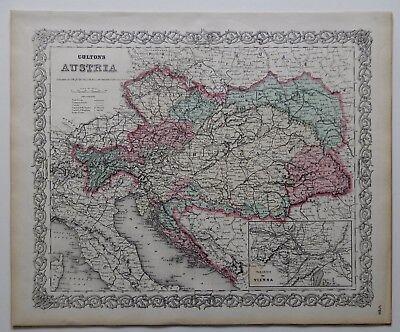 Карты мира VINTAGE COLTON MAP -