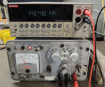 Power Designs Model 2005 Precision Power Supply 20v Dc 500ma