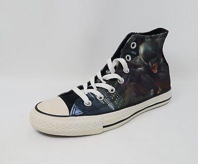 Converse Unisex Shoes Men Women Black Batman Sneakers #2525