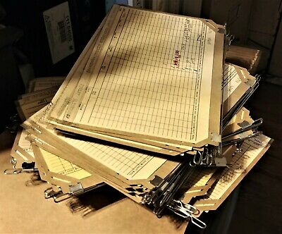 Vintage Acme Visible Card Filing File Flat Signature Cabinet Cards W Wires