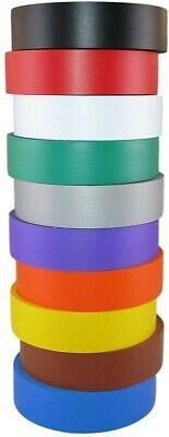 10 Rolls Assorted Vinyl Pvc Electrical Tape 34x60 Flame Retardant Ul Approved