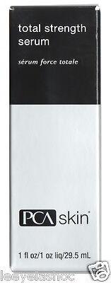 PCA Skin Total Strength Serum Full Size 1 fl oz / 29.5 mL NIB AUTH - EXP 10/18