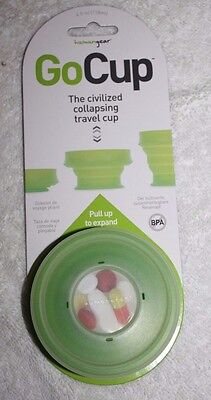HumanGear GoCup Collapsing Travel Cup Compact & Expandable  NEW
