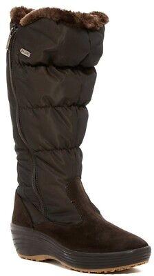 NIB $220 Pajar Amanda Faux Fur Lined High Boot Brown Sz EU 40 US 9 - 9.5