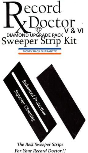Record Doctor Sweeper Strip Kit - Set of 4 IMPROVED, GUARANTEED SWEEPER STRIPS!!