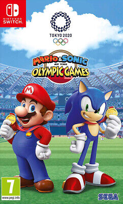 Mario & Sonic at the Olympic Games Tokyo 2020 (Switch)  BRAND NEW AND SEALED