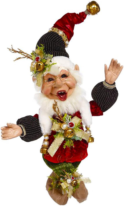 "[Mark Roberts Elves - Sleighbells Elf 51-05566 Medium 17"" Figurine </Title]"