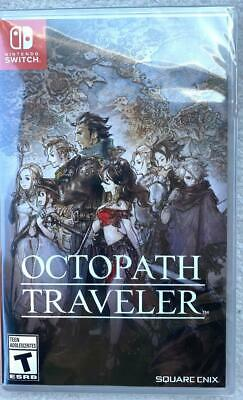 Octopath Traveler Nintendo Switch 2018 NEW Sealed