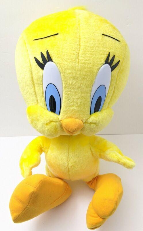 "Vintage Rear 1997 Looney Tunes Tweety Bird 24"" Jumbo  Plush Play by Play No Tag"