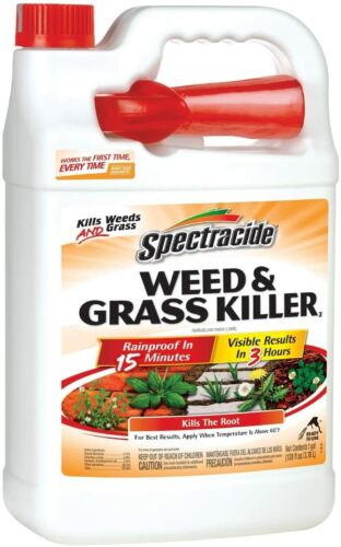 Spectracide Weed & Grass Killer, Ready-to-Use, 1-Gallon. FREE SHIPPIN