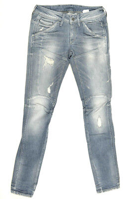 G-Star Raw Jeans Destroyed 'NEW ELVA TAPERED WMN' Size W25 L32 Womens or Girls