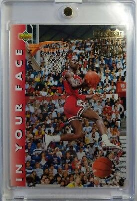 - 1992 92-93 Upper Deck Michael Jordan Slam Dunk Champ Error 85-90, Must Have MJ !