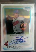 Francisco Lindor Chrome Auto
