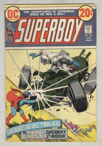 Superboy #196 July 1973 VG