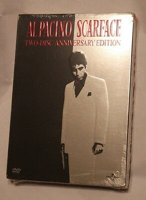 Al Pacino Scarface Two-Disc Anniversary Edition DVD  NEW