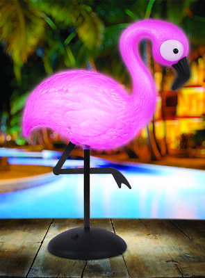 Flamingo LED Lamp Table Decor Light Up Novelty Desk Nightlight for sale  Shipping to India