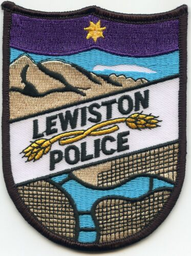 LEWISTON IDAHO ID colorful POLICE PATCH
