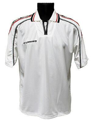 Umbro Short Sleeve Manchester United Soccer Jersey (1119) White Medium Large