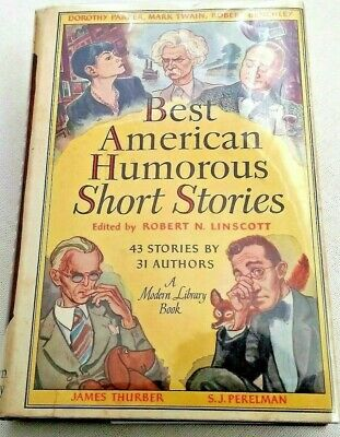 Best American Humorous Short Stories BOOK Modern Library HC Good