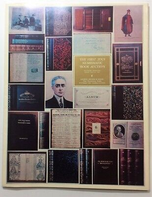 The First ANA Numismatic Book Auction - Catalog George Kolbe 1993 - with extras