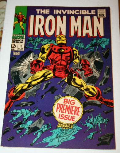 Iron Man #1! 1968! VF? Nice Copy! Silver Age Key!