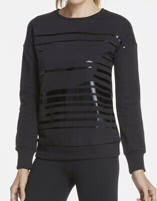 Fabletics Black Snowshoe Pullover Size Medium