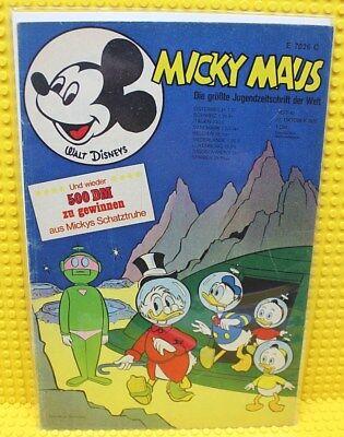 Walt Disney® Micky Maus Nr 42 von 1970 mit Gutschein und Sammelbild