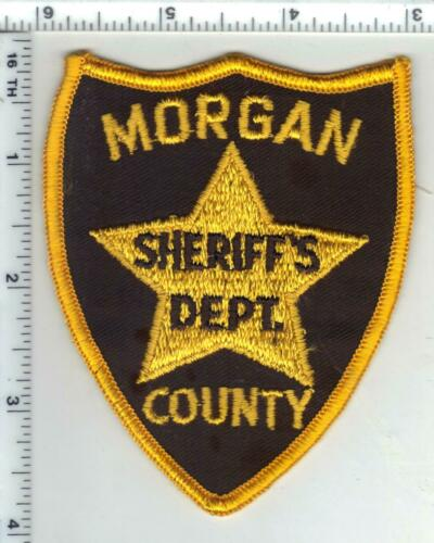 Morgan County Sheriff (Alabama) 1st Issue Shoulder Patch