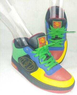 Multi colored Heelys Gelato style #7242  size 6