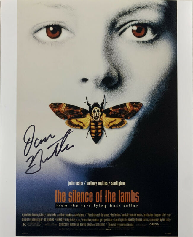 DAN BUTLER HAND SIGNED 8x10 PHOTO SILENCE OF THE LAMBS RODEN RARE AUTHENTIC