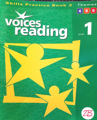 Zaner-Bloser   Voices Reading   Grade 1   Skills Practice Book 2   Themes 4 5 - Reading Themes