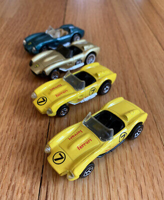 Hot Wheels FERRARI 250 Lot Of 4 Variations Loose EXCELLENT CONDITION