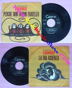 LP-45-7-039-039-SERGIO-ENDRIGO-Perche-039-non-dormi-fratello-La-tua-assenza-no-cd-mc-vhs