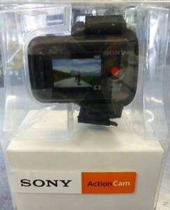 SONY ACTION CAM - HDRAS20 as New in Box with accessories + WIFI R Campbelltown Campbelltown Area Preview