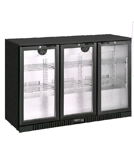 Brand New 3 Door Bar Display Fridge 330L